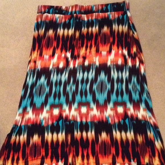🔵Ana by JcPenney plus size maxi skirt
